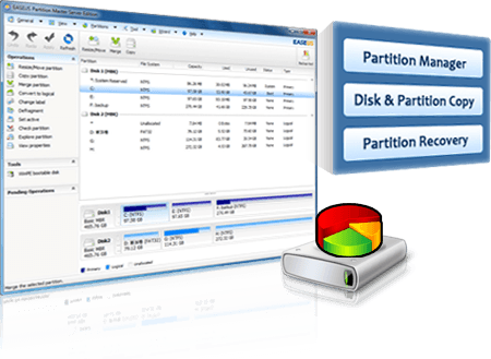EASEUS Partition Master 9 3 Professional / Technican Edition