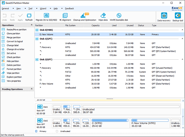 Resize or extend EFI partition.