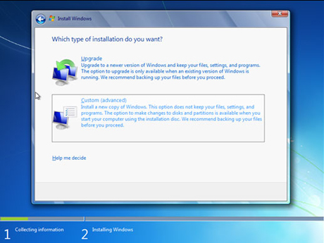 How to dual boot windows 7 with xp or vista easeus for Choosing new windows