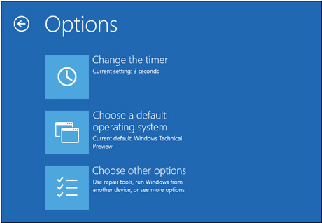Configuraciones de Windows 10.